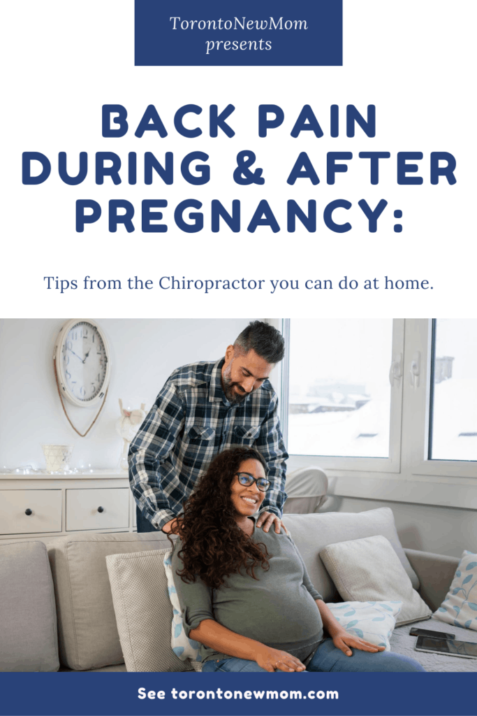 Back pain during and after pregnancy_ Tips from the Chiropractor you can do at home