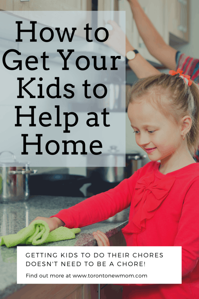 How to Get Your Kids to Help at Home