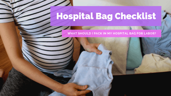 What should I pack in my hospital bag for labor?