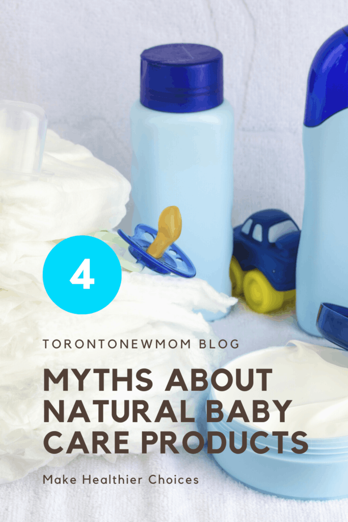 4 Myths About Natural Baby Care Products