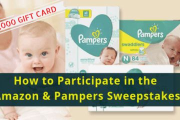 How to Participate in the Amazon & Pampers Sweepstakes