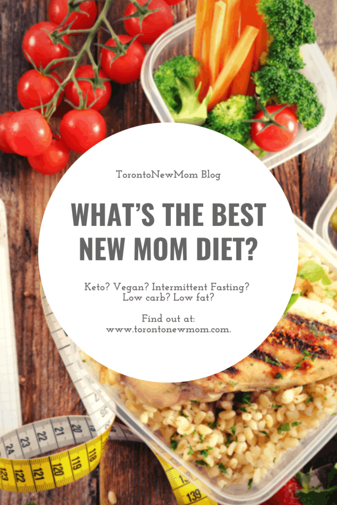 what's the best new mom diet