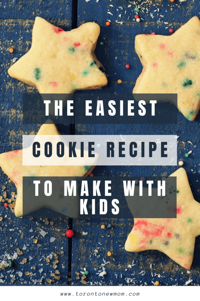 The easiest cookie recipe to make with kids