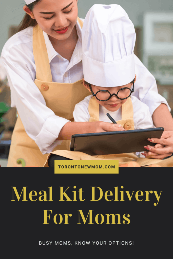 Meal Kit Delivery – Busy moms, know your options!