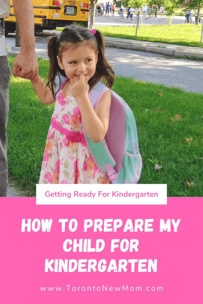 How To Prepare My Child For Kindergarten