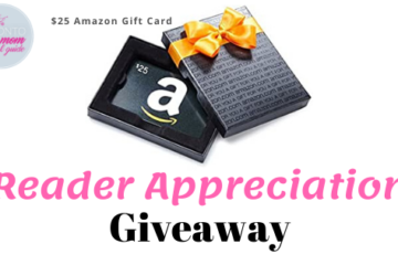 Reader Appreciation Giveaway for $25 amazon gift card