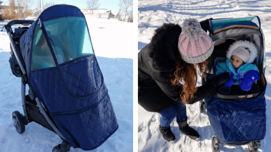 Manito Stroller Cover for winter
