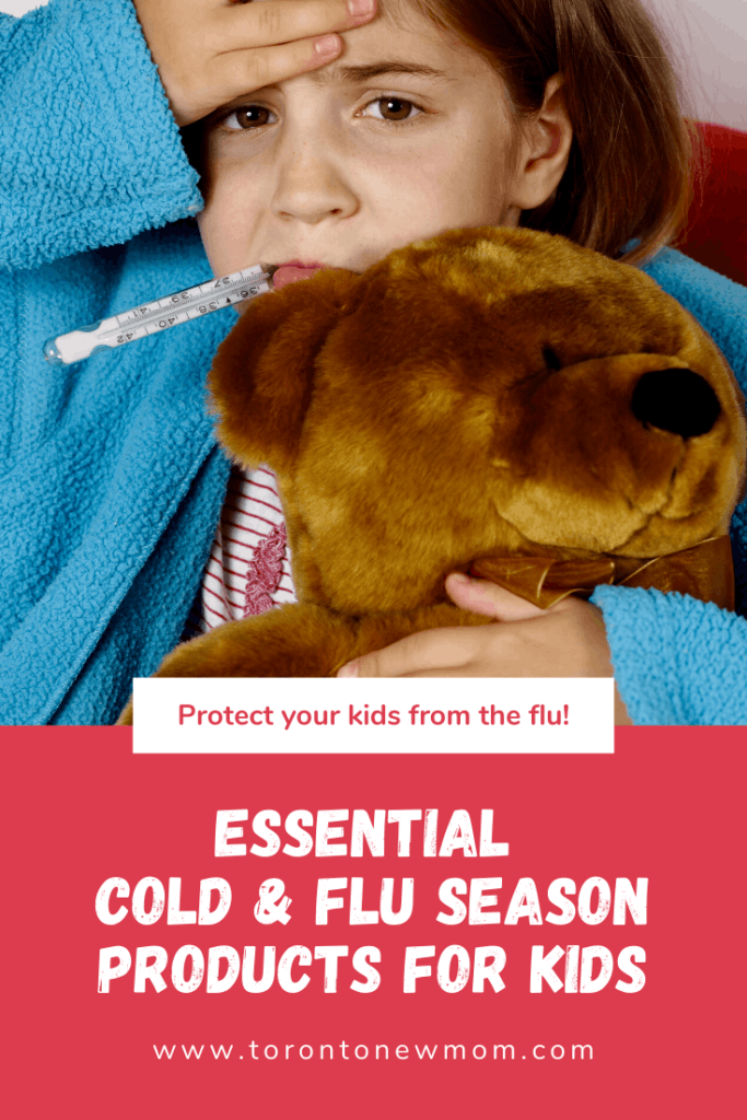 essential cold & flu season products for kids