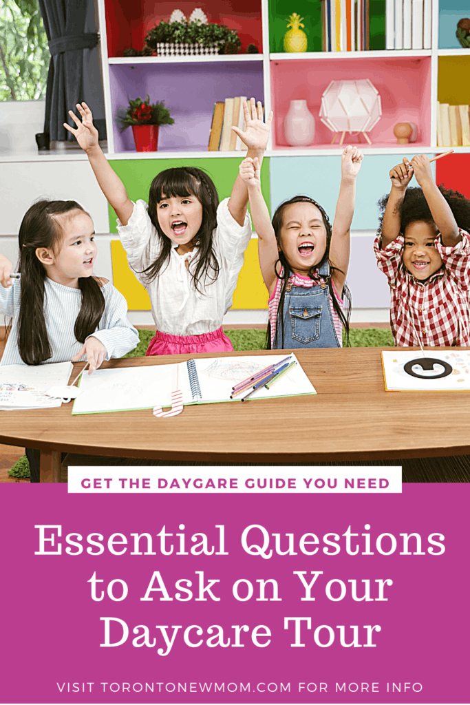 Essential Questions to Ask on Your Daycare Tour