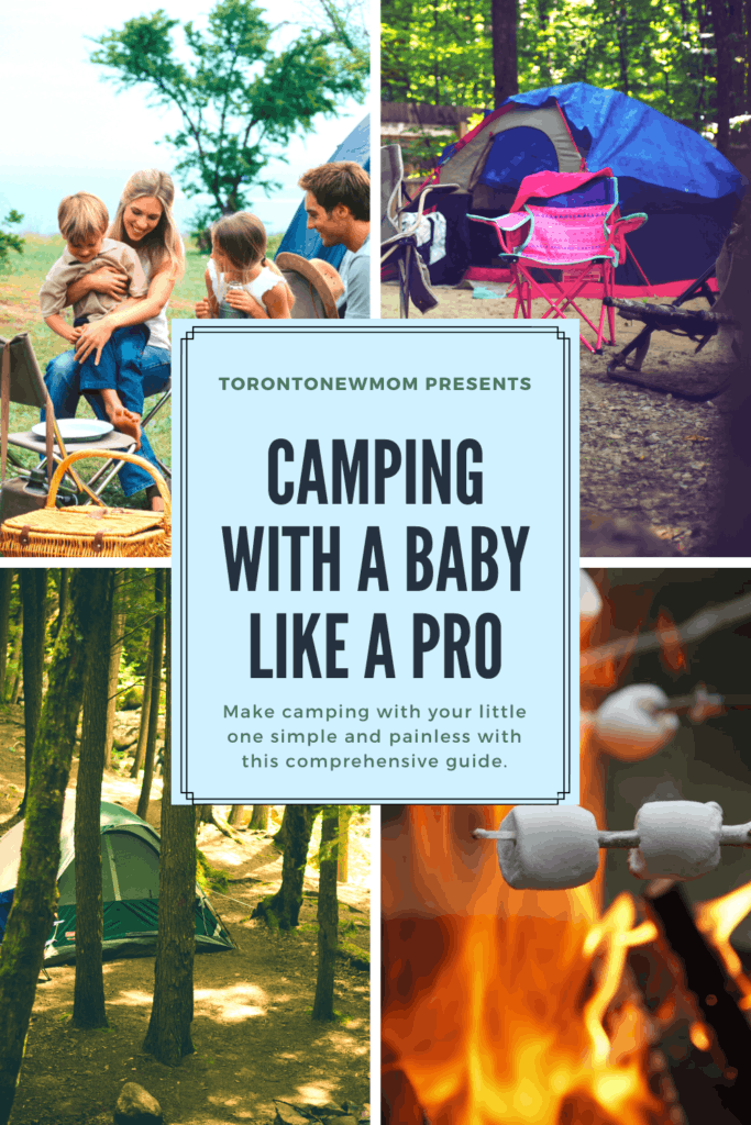 camping with a baby like a pro