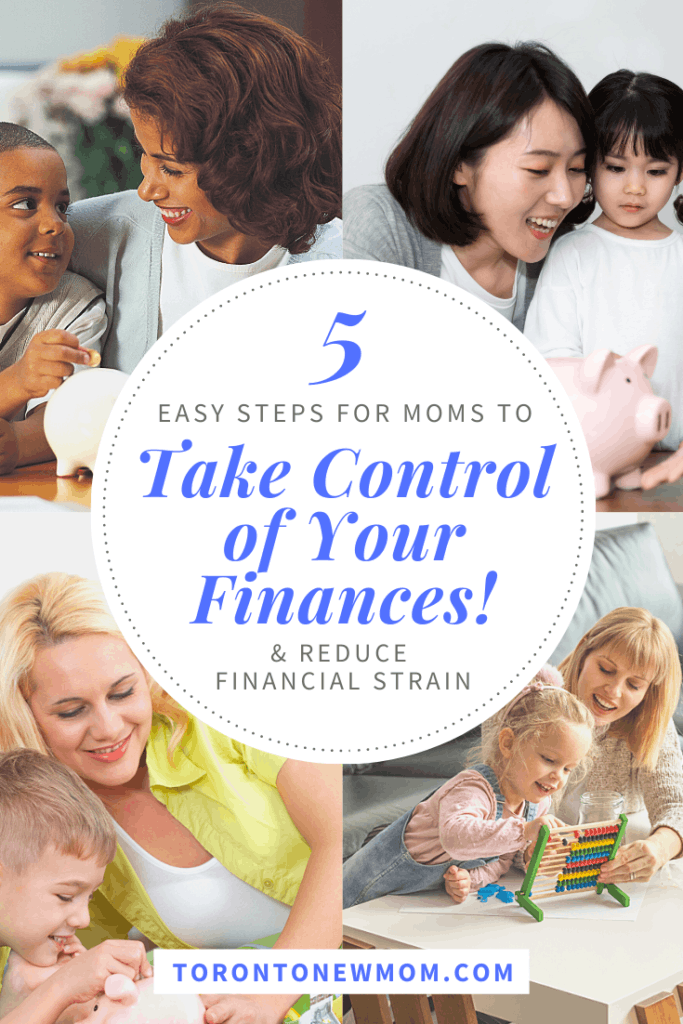 5 Easy Steps for Moms to Help Reduce Financial Strain