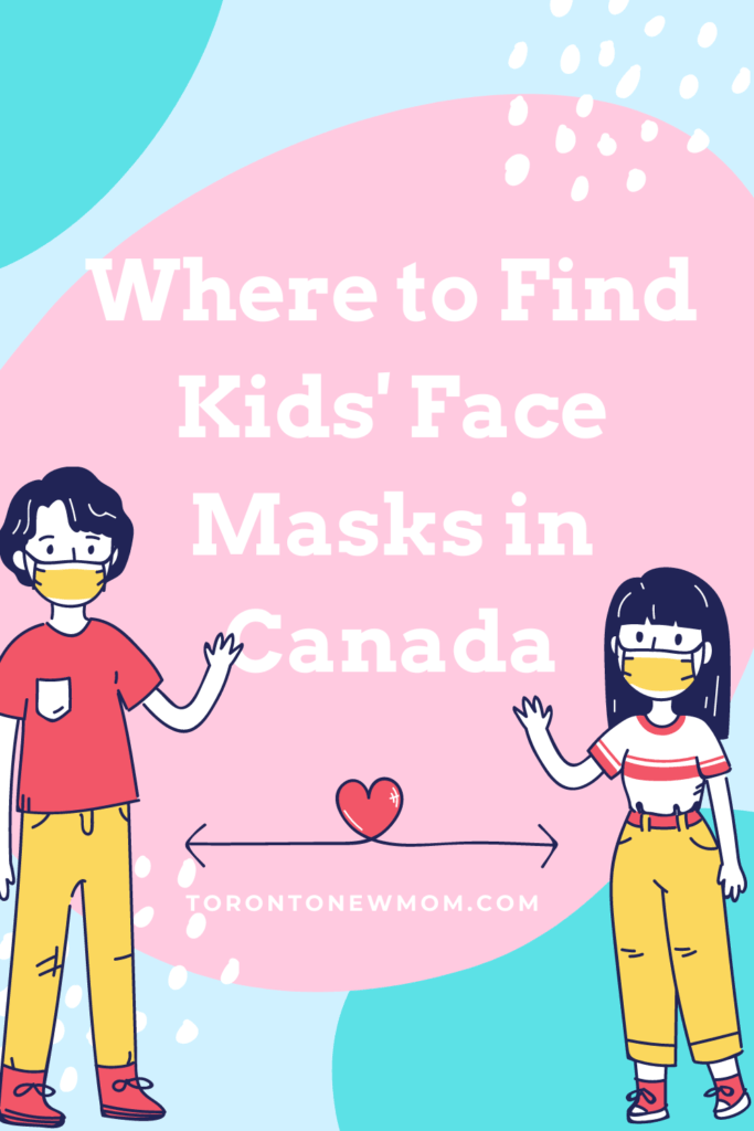 Where to Find Kids' Face Masks in Canada