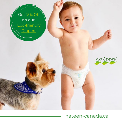 Nateen Eco-Friendly Diapers - Coupon Code