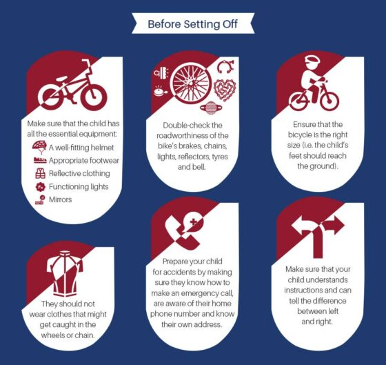 Teaching Cycling Safety to Children 3
