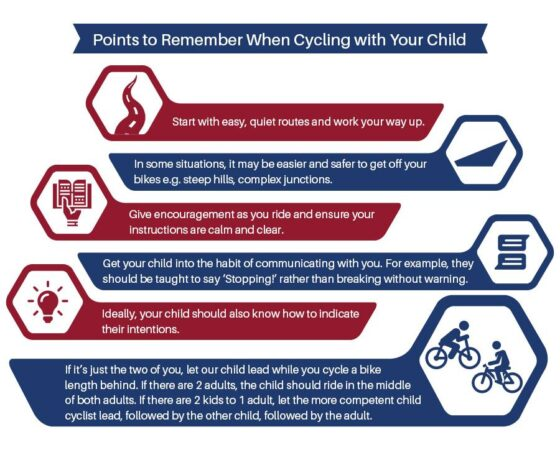 Teaching Cycling Safety to Children 4