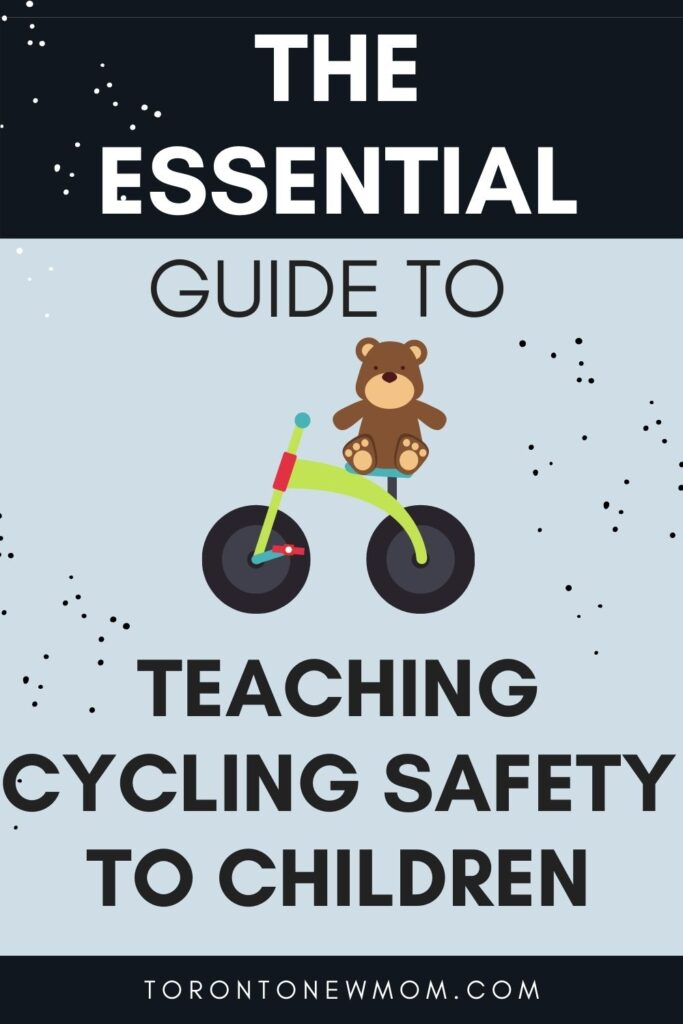Teaching Cycling Safety to Children