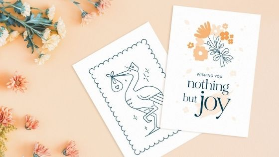 50 Amazing New Baby Card Ideas and Free Printables