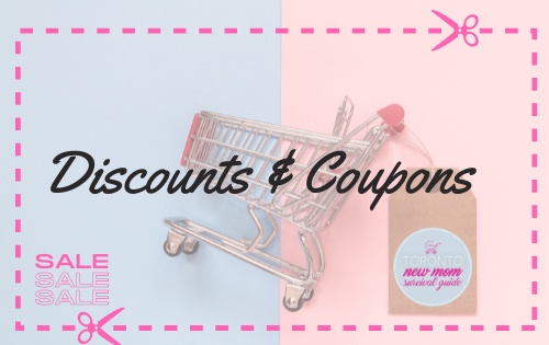 Discount & Coupons for new moms