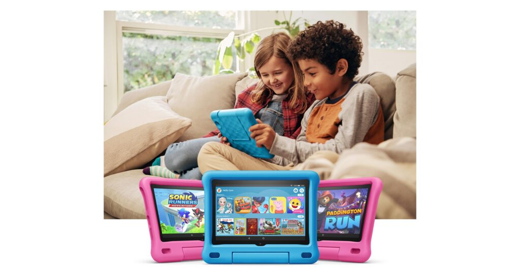 2021 Best Holiday Gifts for Kids- Amazon tablet for kids