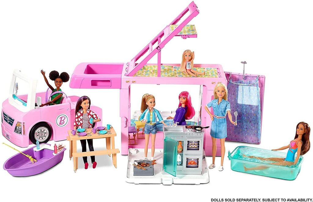 2021 Best Holiday Gifts for Kids- Barbie Dream Camper