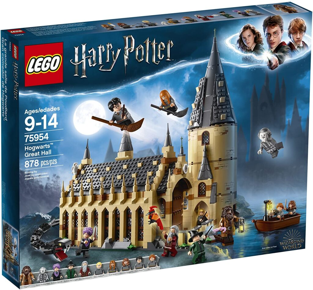 2021 Best Holiday Gifts for Kids- LEGO Harry Potter Hogwarts Great Hall